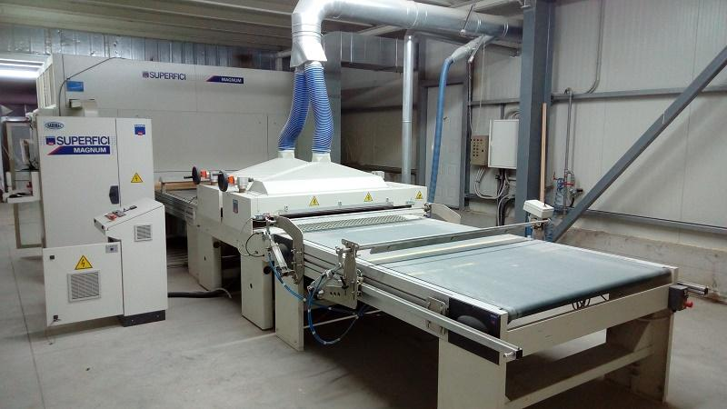 Surface Finishing Spraying Painting Lacquering Plant SCM-SUP