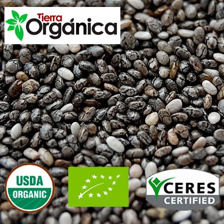 Chia seeds - organic & conventional
