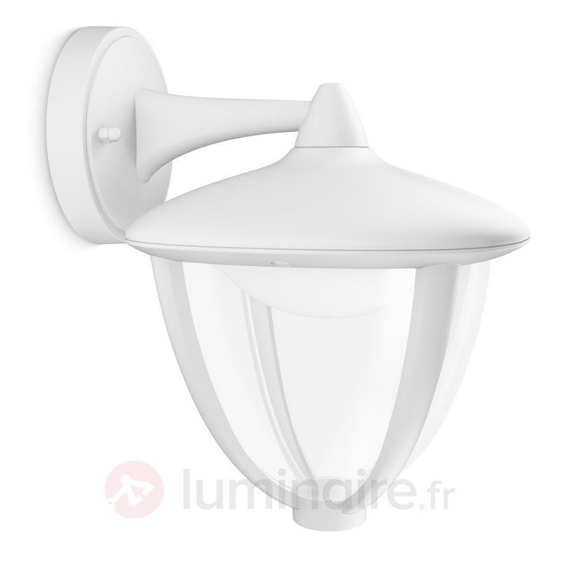 Applique d'extérieur LED Robin, blanc - Appliques d'extérieur LED