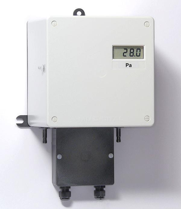 Diffrenzdruckmessgerät MU-Digital - Differenzdruckmessgerät für sehr kleine Drücke mit digital Anzeige