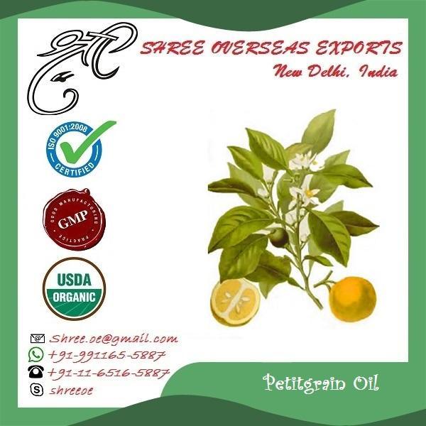 Organic Petit Grain Oil - USDA Organic
