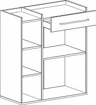 """Chest Of Drawers """"Fan"""" - Hallway furniture"""