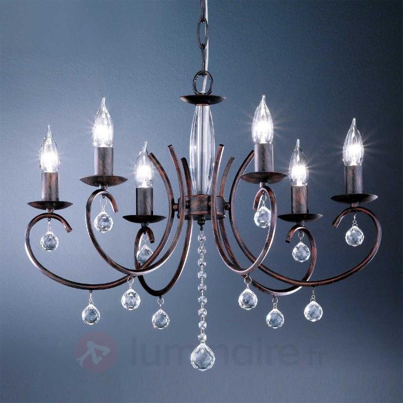 Ravissant lustre SALA à 6 lampes - Tous les lustres