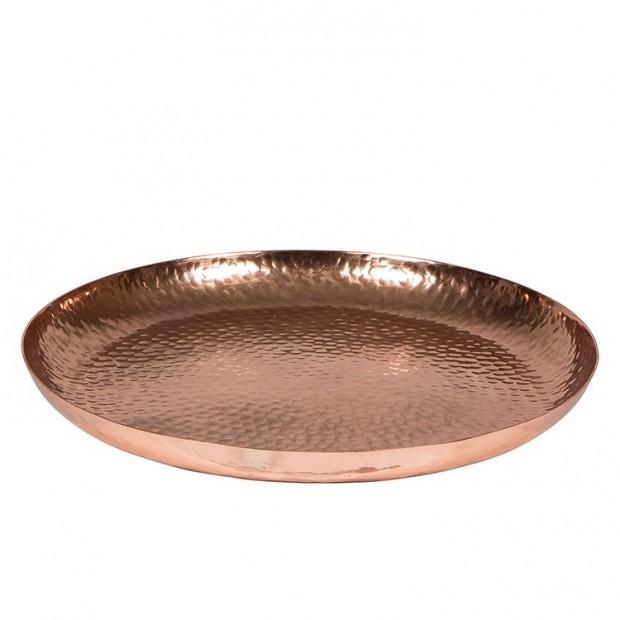 Kupfer runde Schale