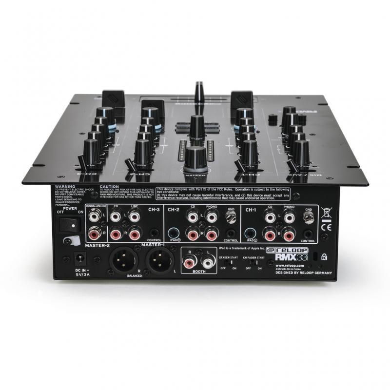 DJ-Mixer - Reloop RMX-33i