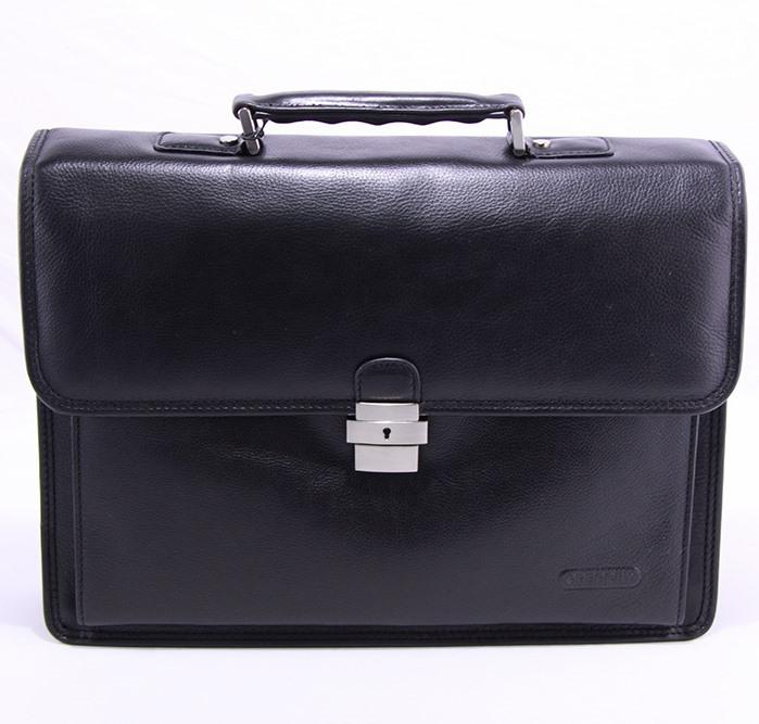 LEATHER BRIEFCASES - Availlable in colours: Black Dark Brown, Light Brown