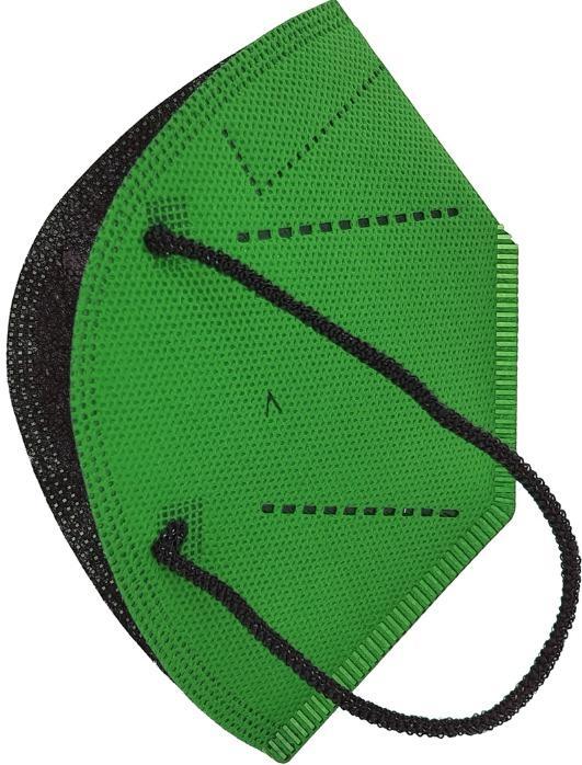 Hygienic Mask Plus Reusable FIR GREEN - 8437022156125