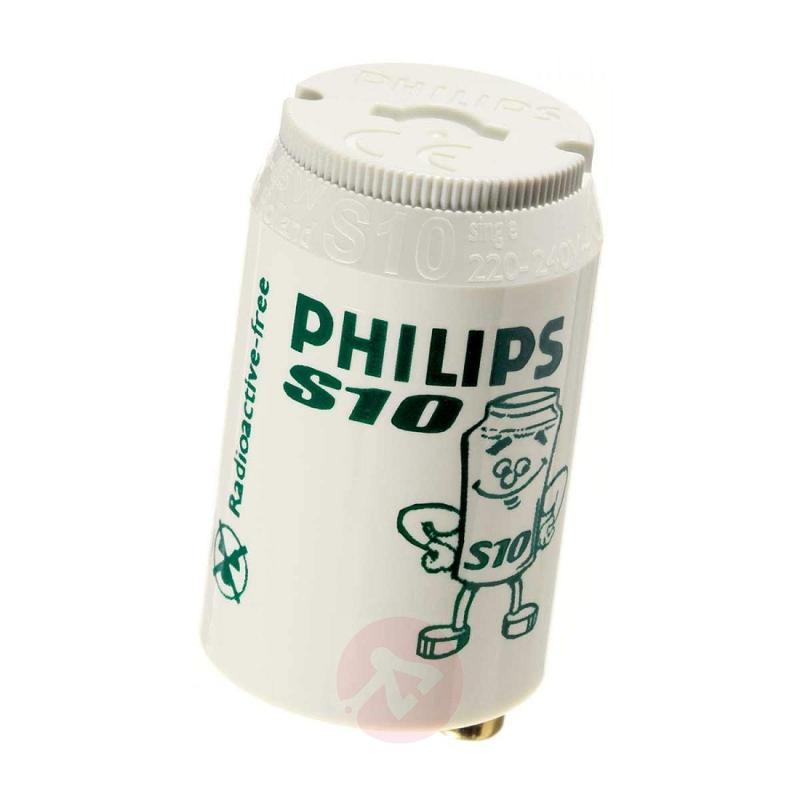 Starter for fluorescent bulbs S10 4-65W - Philips - light-bulbs