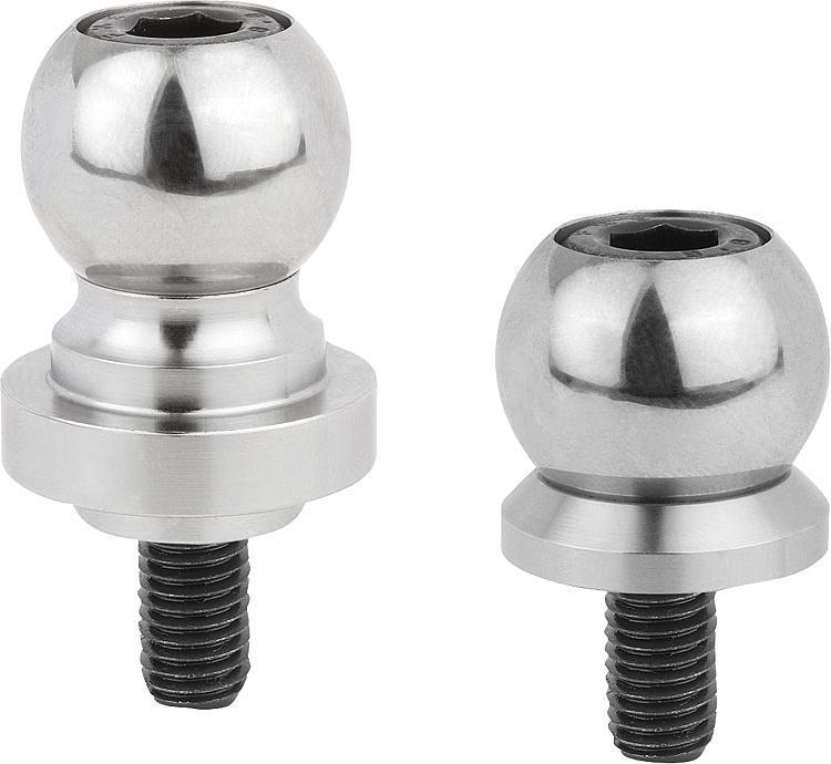 Billes de serrage avec calotte pour stabilisateur de pièce - Éléments d'appui et de support