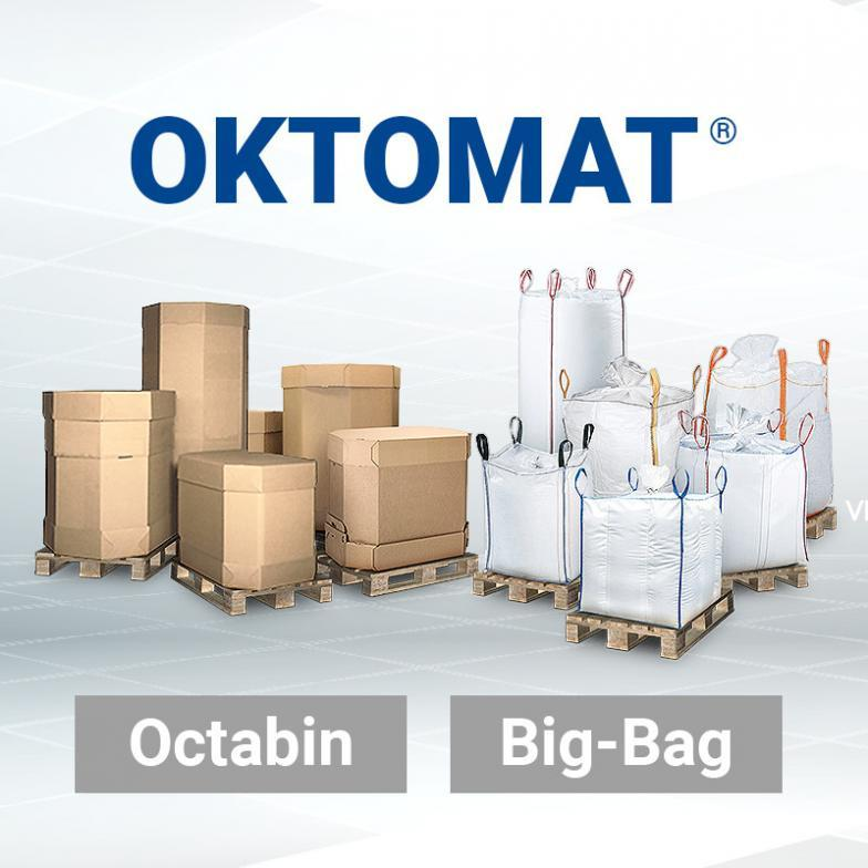 Discharge station for Big Bag and Octabin - Automatic discharge station with oscillating system for Octabin and Big Bag