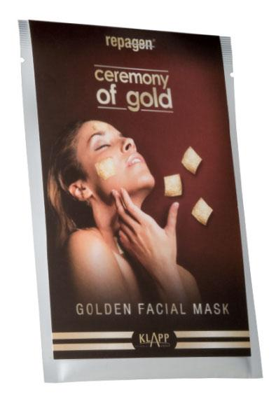 GOLDEN FACIAL MASK - CEREMONY OF GOLD 1 pcs.