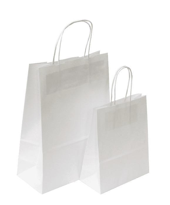 White Paper Bag -