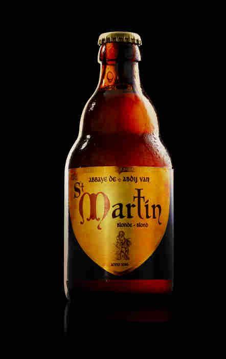 Bière d'abbaye - Abbaye de St Martin Blonde