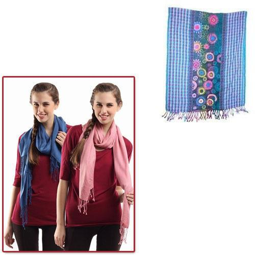 Wool Stoles for Girls