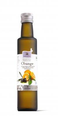 """Huile d'olive bio """"O'range"""" - Produits oléicoles"""