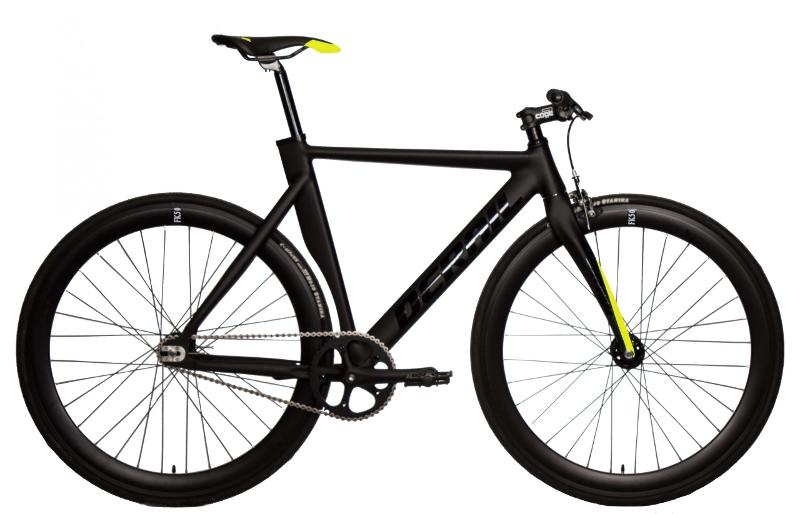 Bicicleta Derail rd50 – Negra /Amarillo - FIXIES