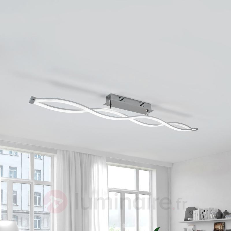 Tura - Plafonnier LED en forme de vague - Plafonniers LED