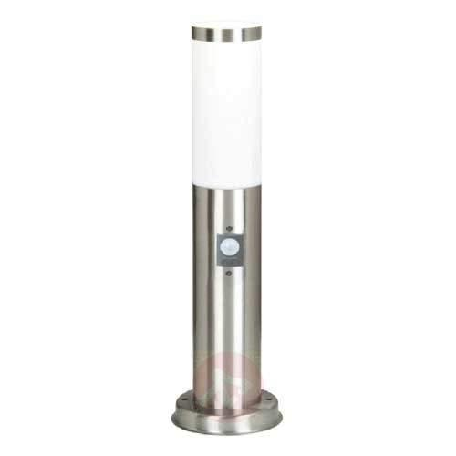 Discreet motion detector pillar lamp Kristof - Pillar Lights with Motion Sensor
