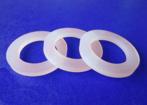 "silicone washer - sealing gasket 1/16"" 1/8"" 1/4"" 1/2"" 1"" 2""  silicone rubber food grade washer"