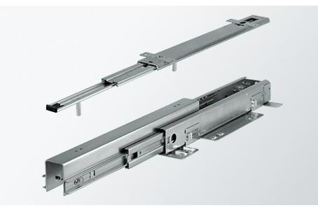 120 kg Full extension sliding system Series 059 - Vertical Pantry Pull-Out Sliding System with Soft Slose for tall cabinets