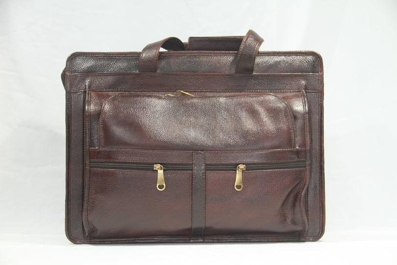 Brown color Laptop bag for men