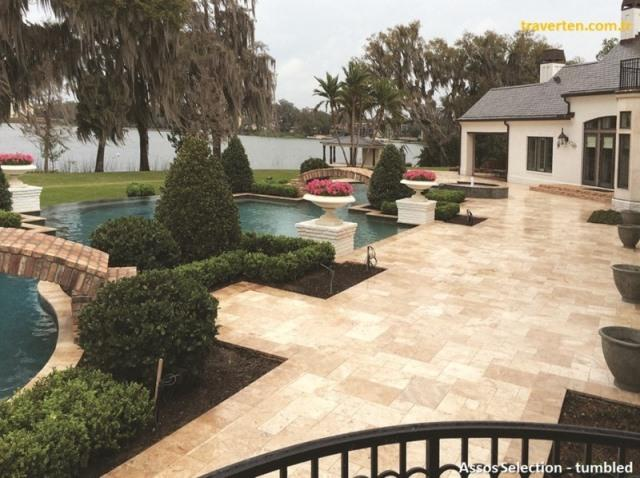 Assos Selection Travertine - 1st grade, 1st quality, premium quality pavers & tiles