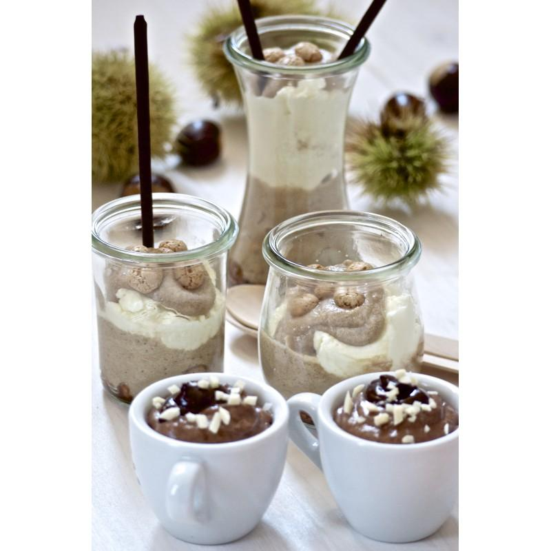 6 jars Bobine® 200 ml  - with glass lids and rubber rings