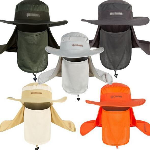 Hut mit einem Schutz -