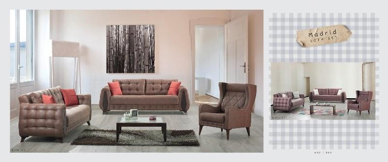 Madrid sofa set - SofaSets
