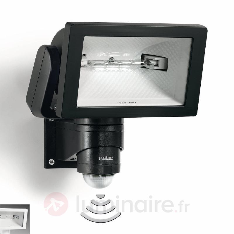 Projecteur halogène à détecteur STEINEL HS 300 - Appliques d'extérieur avec détecteur