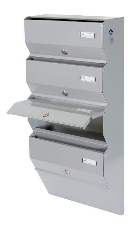 Apartment post boxes - Metal letterbox