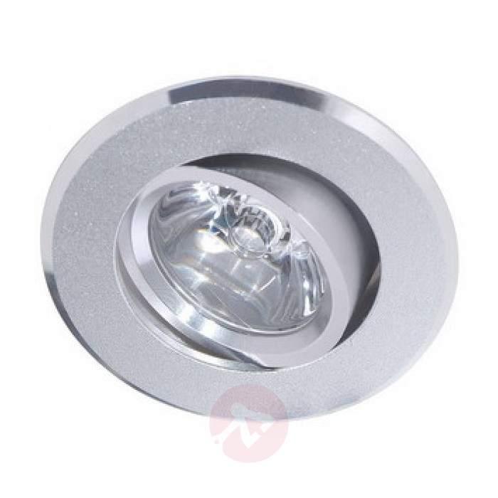 Round FINN LED exterior wall light - Recessed Spotlights