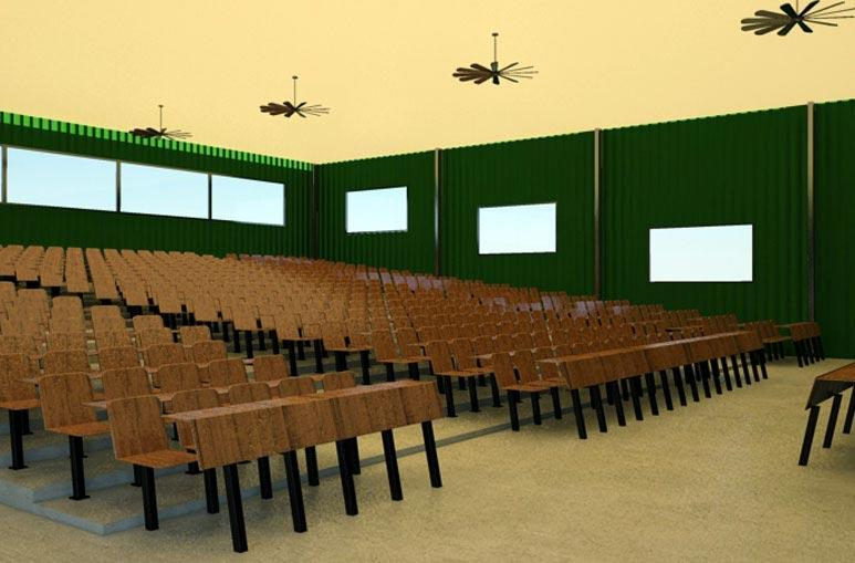Salle de conférence - Système de construction - Bâtiments sportifs et Espaces Loisirs