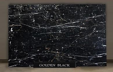 golden Black marble - golden black