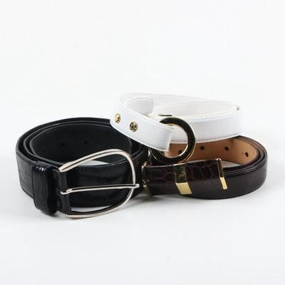 Designer Leather Belts -