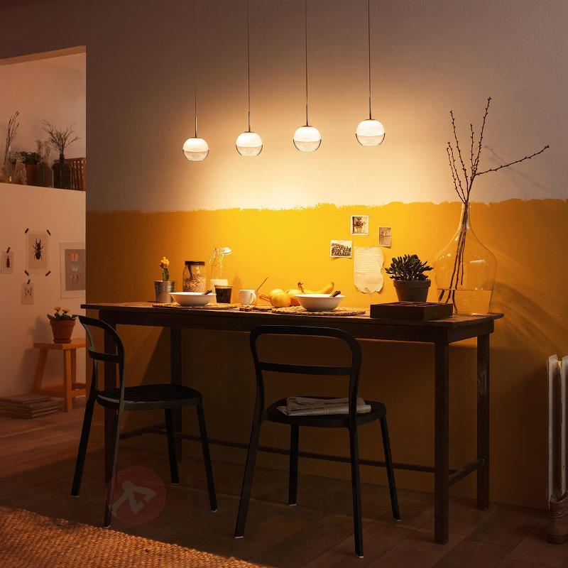 Arago - suspension LED à quatre lampes - Suspensions LED