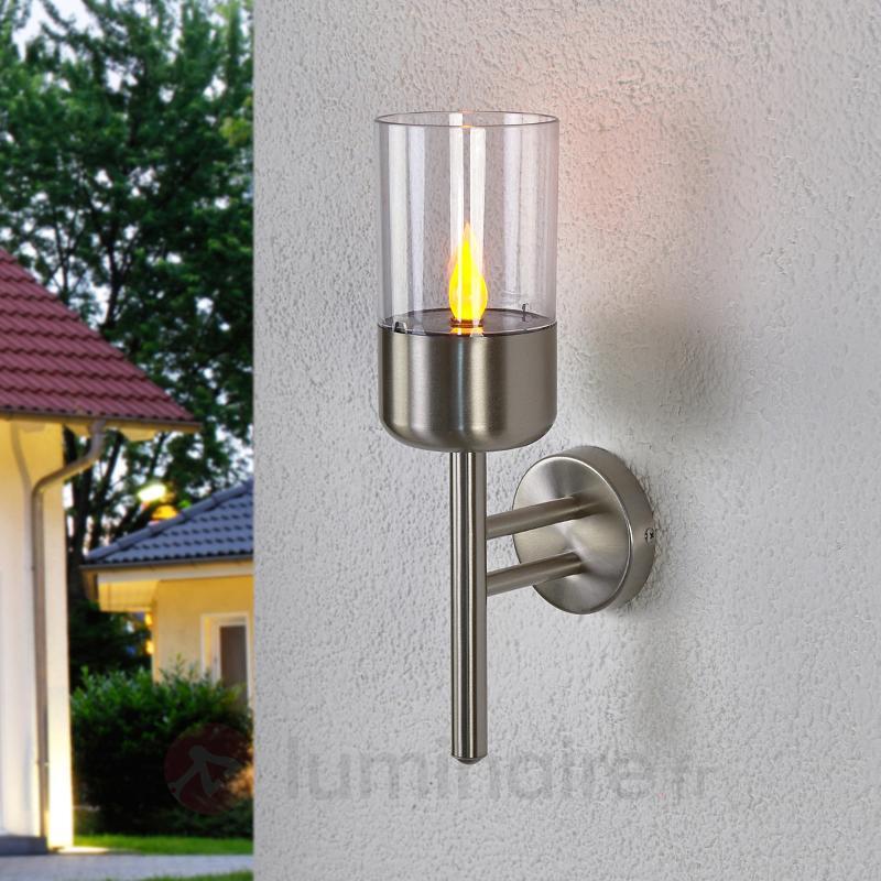 Applique solaire LED chaleureuse Milli - Appliques solaires