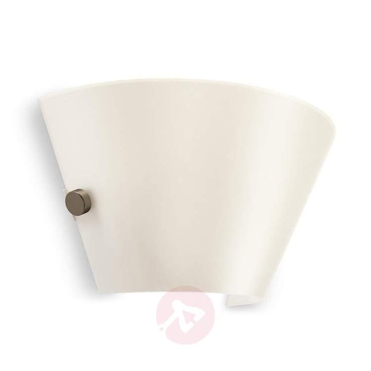 Attractive Vendee glass wall light with LED - Wall Lights