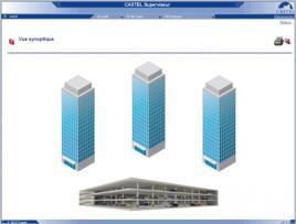 CASTEL SUPERVISEUR - Interphonie de sécurité (CASI) - Logiciel de supervision