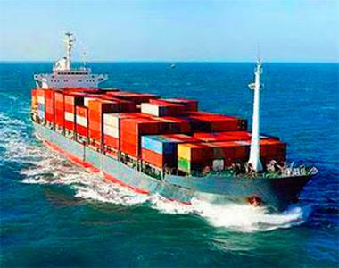 Ttransportation of goods by sea
