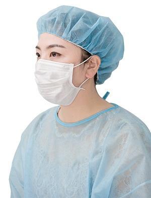 Máscara facial de alambre de nariz doble