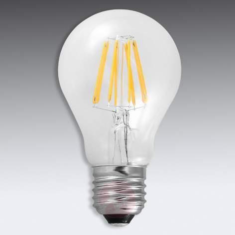 E27 8 W 827 globe lamp G125, clear - light-bulbs