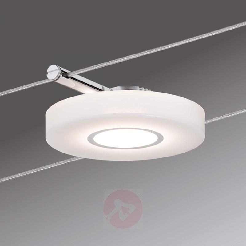 Light for cable lighting system DiscLED I 12 V DC - indoor-lighting