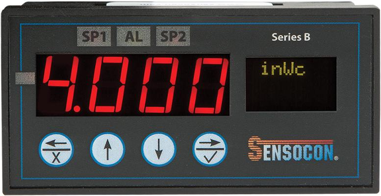 Digital Differential Pressure Gauges and Controls - Sensocon Series A and Series B
