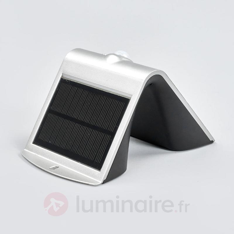 Jolie applique d'extérieur LED Adela, solaire - Appliques solaires