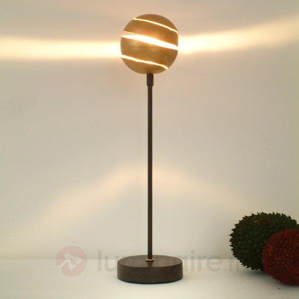 Lampe à poser décorative KUGELBLITZ GOLD en fer - Lampes à poser pour rebord de fenêtre