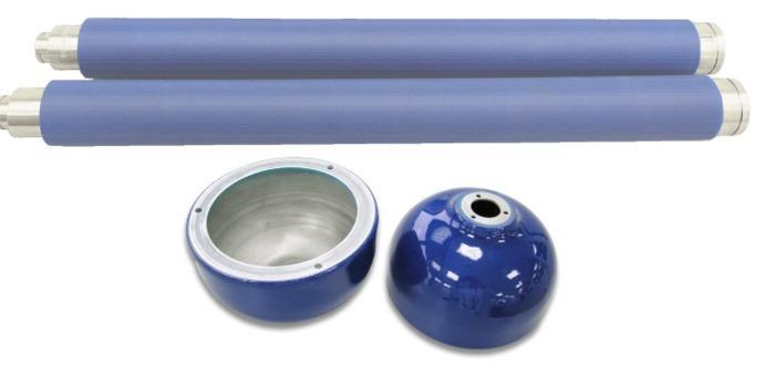 Kunststoffbeschichtungen - Polyurethan PUR 85 Shore A - null
