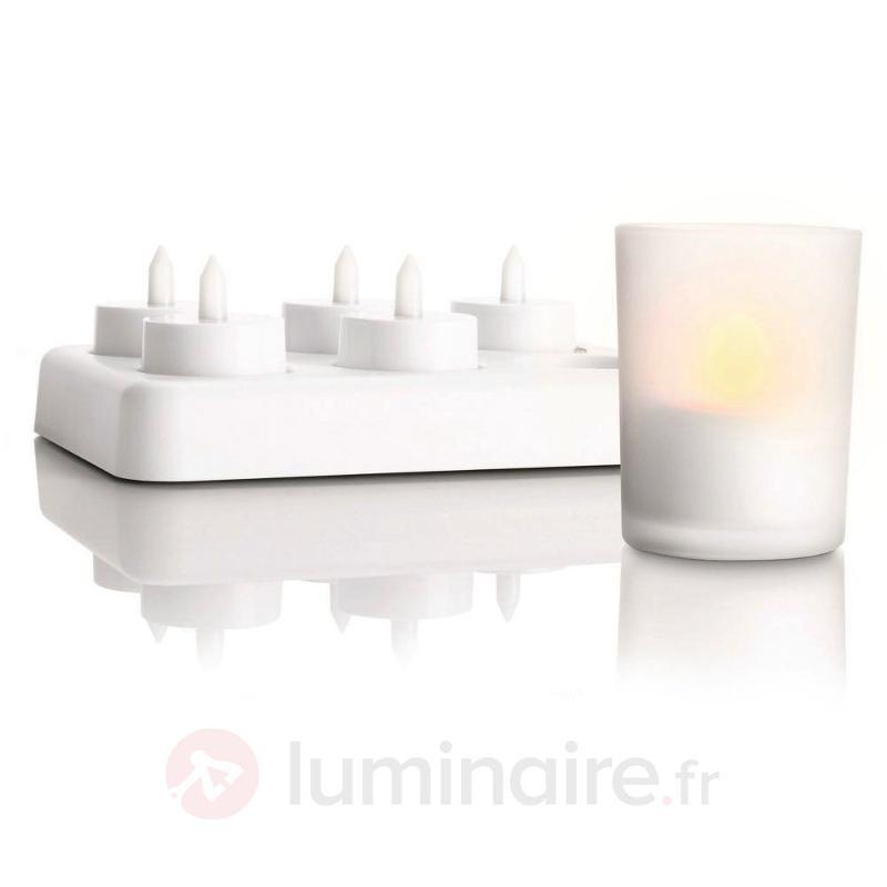 Photophores IMAGEO TeaLights avec technologie LED - Bougies LED