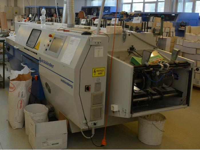 Wohlenberg Quickbinder - Used Machine
