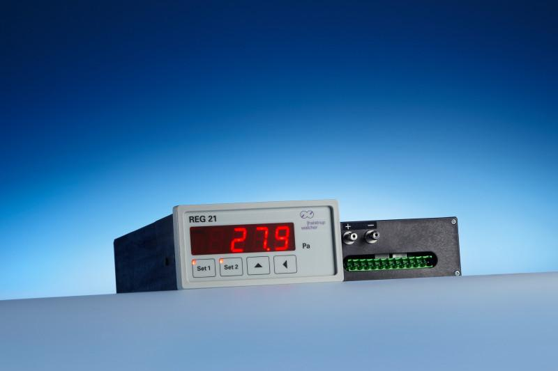 Differential pressure transmitter REG 21 - Pressure measurement and regulation in a device